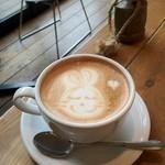 カフェ ゼノン - カフェラテ