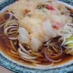 立喰そば かしやま - 料理写真:天ぷら(かき揚げ)そば 350円