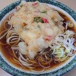 立喰そば かしやま - 天ぷら(かき揚げ)そば 350円