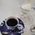 利久梅心庵 - ドリンク写真:珈琲。香り高く、美味しいです。生クリームとお菓子がついてきました。