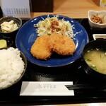 すぐる屋 - 料理写真:牛肉コロッケ定食です。(2020年1月)