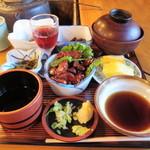 奥藤 - 「そば定食」①
