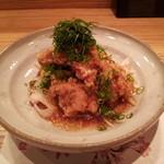 京酒房 藤かわ - 鶏の唐揚げ 美味しいソース
