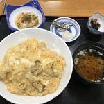 123482617 - 小豆島特産ハモの卵とじ丼