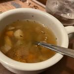 カウベル - スープ♡