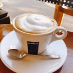 ポポット - コーヒーにミルクを乗せて♪