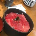 のっけ家 - 南マグロ(ミックス)丼
