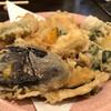 石臼挽き手打ち蕎麦進士 - 料理写真:野菜天盛り