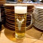 東京ブッチャーズ with OKACHI Beer Lab - AMEYOKO ドライ(R 580)