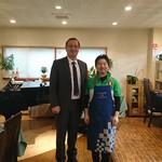 河内乙女の心くすぐるイタリアン フィアスケッタ - イタリア総領事ご来店くださいました
