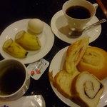 カフェ ジャンシアーヌ - モーニングバイキング。飲み物+100円。