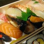 利久寿司 - 料理写真:上にぎり1360円