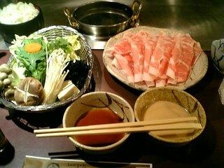 ぐるまん - 豚しゃぶセット(お野菜、麺類付き)