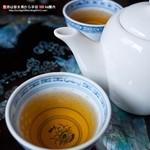 三元閣 - 最後のお茶
