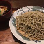 そば切り 吟香 - 料理写真:鴨と白ねぎのせいろ蕎麦