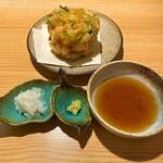 分讃岐うどんあ季 時譚 - 2019海老たっぷりかき揚げ