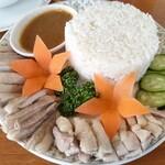 サラカーム - 料理写真:カオマンガイ ¥1,100