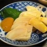 九州一食堂 - タケノコ刺し身(2012/03)