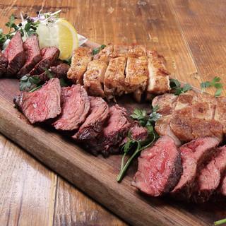 お肉は「食肉卸」から直接仕入れた、最高級PRIME