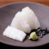 Pojiannakameguro - 料理写真:平目のお造りと塩昆布