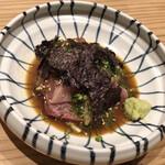 お料理 山乃口 - 胡麻和え刺身