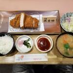 tonkatsuke-waike- - 琉香豚ロースとんかつ膳
