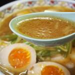 123524774 - 味噌チャーシューメン(スープ)