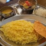 インド食堂 - ・ベジタリアン ライス小 770円