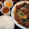 kei楽 - 料理写真:レバニラ炒め定食¥1,290