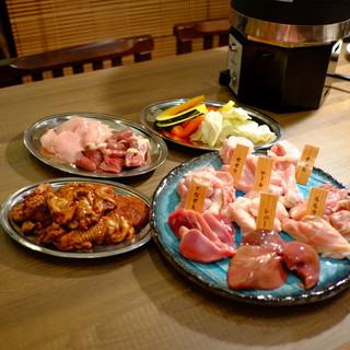 旨味溢れる宮崎鶏を焼肉スタイルで!