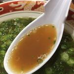 123531963 - 飲んだ後には特に美味い、あっさりスープ