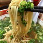123532068 - 中太のストレート麺リフト