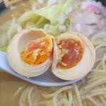 ゑびな軒 - 煮卵の中身