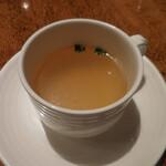 グリル満天星 麻布十番 - スープ