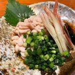 コンペイトウ - 真鱈の白子ポン酢