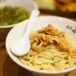 らーめんとカラアゲ あの小宮 - 肉つけ麺 (¥773)