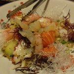 居酒屋かたつむり - 海鮮サラダ