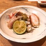 蕎麦ひら井 - 毛蟹