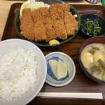 やまだや - 料理写真:チキンカツ定食 ¥750