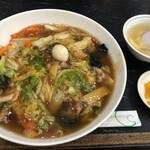 123547017 - スープと漬物付き