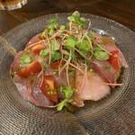 ピッツェリア テルツォ オケイ - 鮮魚のカルパッチョ