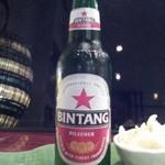 ジャカルタ - インドネシアで人気のビンタンビール