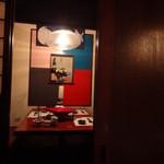 三田獅子丸 - 向かいのお部屋(何故か、伊佐美の壜が)