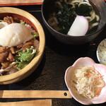 春 - 料理写真:カルビ丼セット