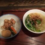 123550793 - 米粉湯と魯肉飯(小椀)のセット