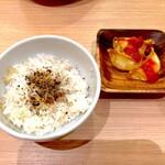 太陽のトマト麺 - Aセット(350円)