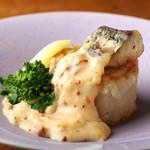 波平キッチン - 本日のおすすめ「大根と鰆のクリームソース」
