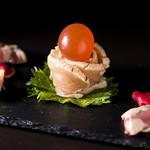 焼き鳥 梵ろ - 広島赤鶏のお刺身