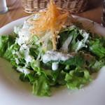 レッドハウスカフェ - たっぷりサラダ