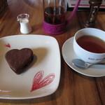 レッドハウスカフェ - アイスクッキーと紅茶「ヌワラエリヤ」